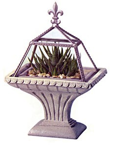 Pedastal De Monaco Small Terrarium