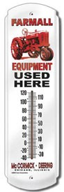 Farmall Equipment Outdoor Thermometer