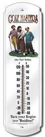 Stooges Golfmasters Outdoor Thermometer