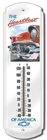 Chevy Heartbeat Outdoor Thermometer