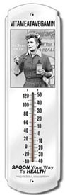 Lucy - Vitameatavegamin Outdoor Thermometer