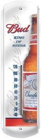 Budweiser Frosty Bottle Outdoor Thermometer