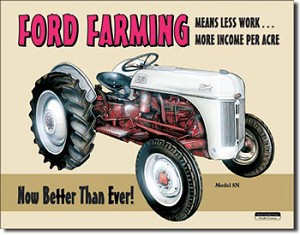 Ford Farming Tin Sign