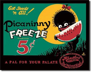Picanny Freeze Tin Sign