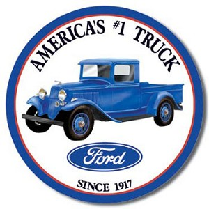 Ford Truck Tin Sign
