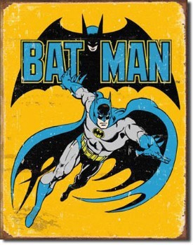 Batman Retro Tin Sign