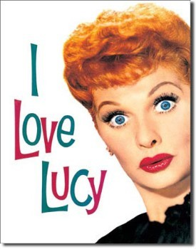 I Love Lucy Tin Sign 2
