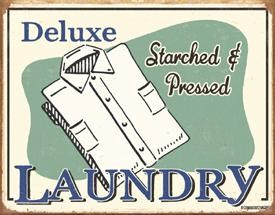 Schonberg Laundry Tin Sign