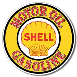 Shell Gas & Oil Tin Sign