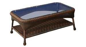 Lexington Synthetic All Weather Wicker Coffee Table