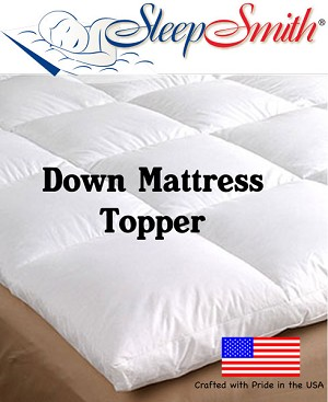 Twin XL Down Mattress Topper
