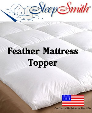 Extra Long Full Feather Mattress Topper
