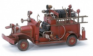 Fire Engine Tin Model