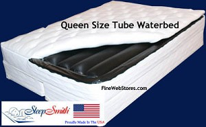 Queen Size Softside Waterbed Mattress Only
