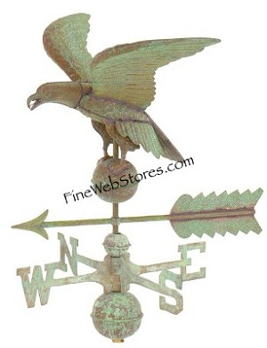 American Eagle Antique Weather Vane