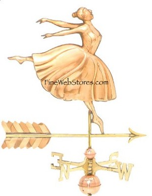 Dancer Weather Vane