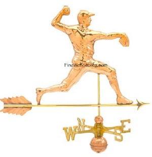 Pitcher Weather Vane
