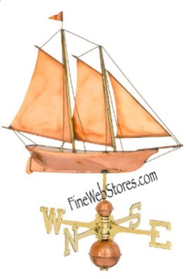 Schooner Weather Vane