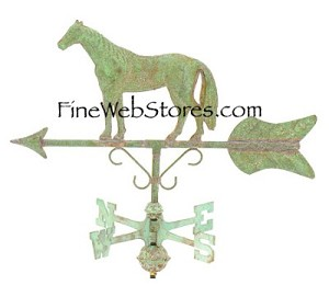 Horse Cottage Size Antique Weather Vane