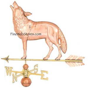 Wolf Weather Vane