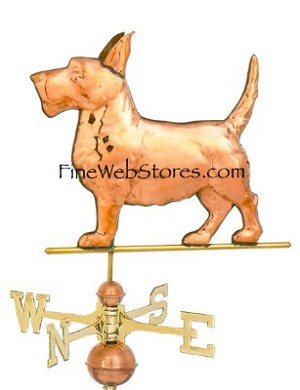 Scottie Dog Weather Vane