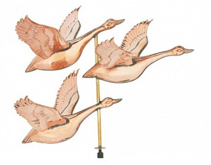 Flying Geese Weather Vane
