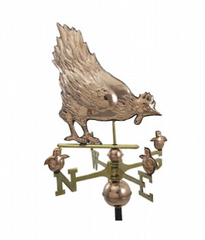 Hen And Chicks Weather Vane