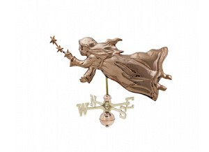 Angel With Star Weather Vane