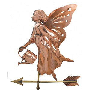 Fairy With Watering Can Weather Vane