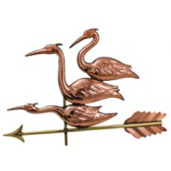Three Herons Weather Vane