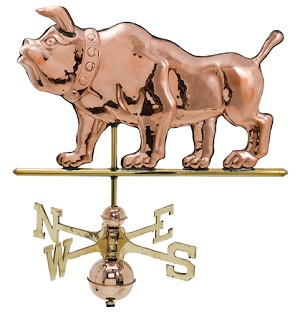 Bulldog Weather Vane