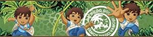 Go Diego Go!™ Peel and Stick Border