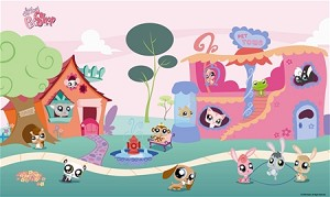 Littlest Pet Shop™ XL Wall Mural 6' x 10'