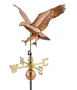 Attack Eagle Weathervane 26 Inches