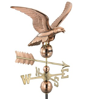 Smithsonian Eagle Weathervane Small Size