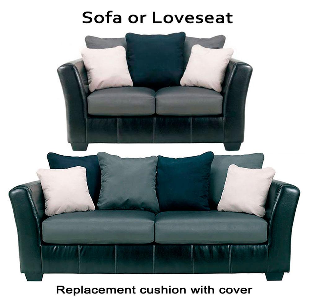 Home Replacement Cushions Sofa Ashley Masoli Grey Cushion Cover 1420038 Or 1420035 Love