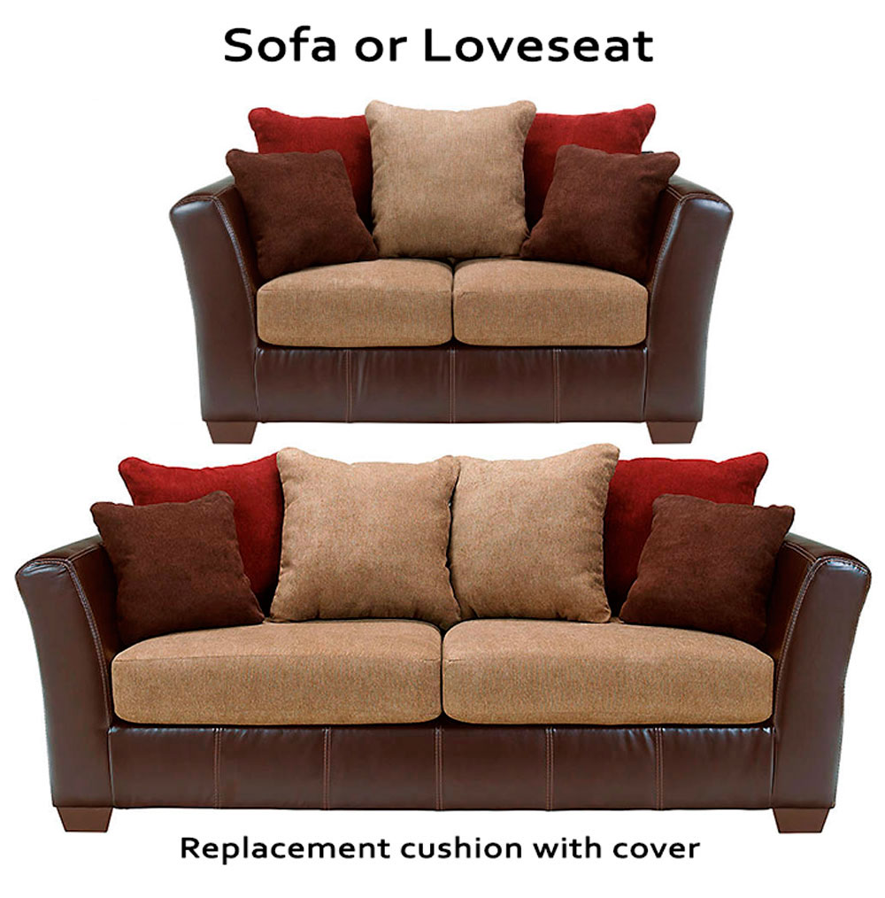 Home Replacement Cushions Sofa Ashley Sanya Cushion Cover 2840038 Or 2840035 Love
