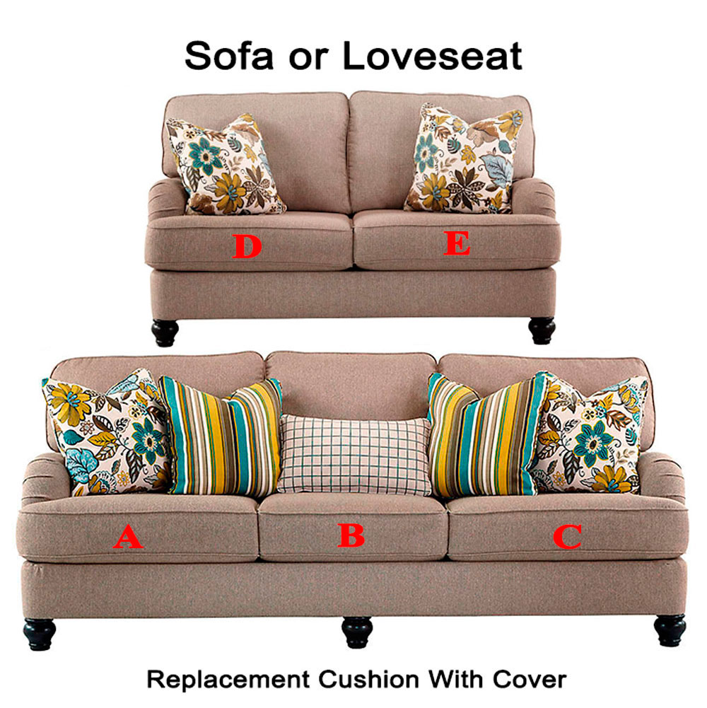 Ashley® Hariston replacement cushion cover, 2550038 sofa ...