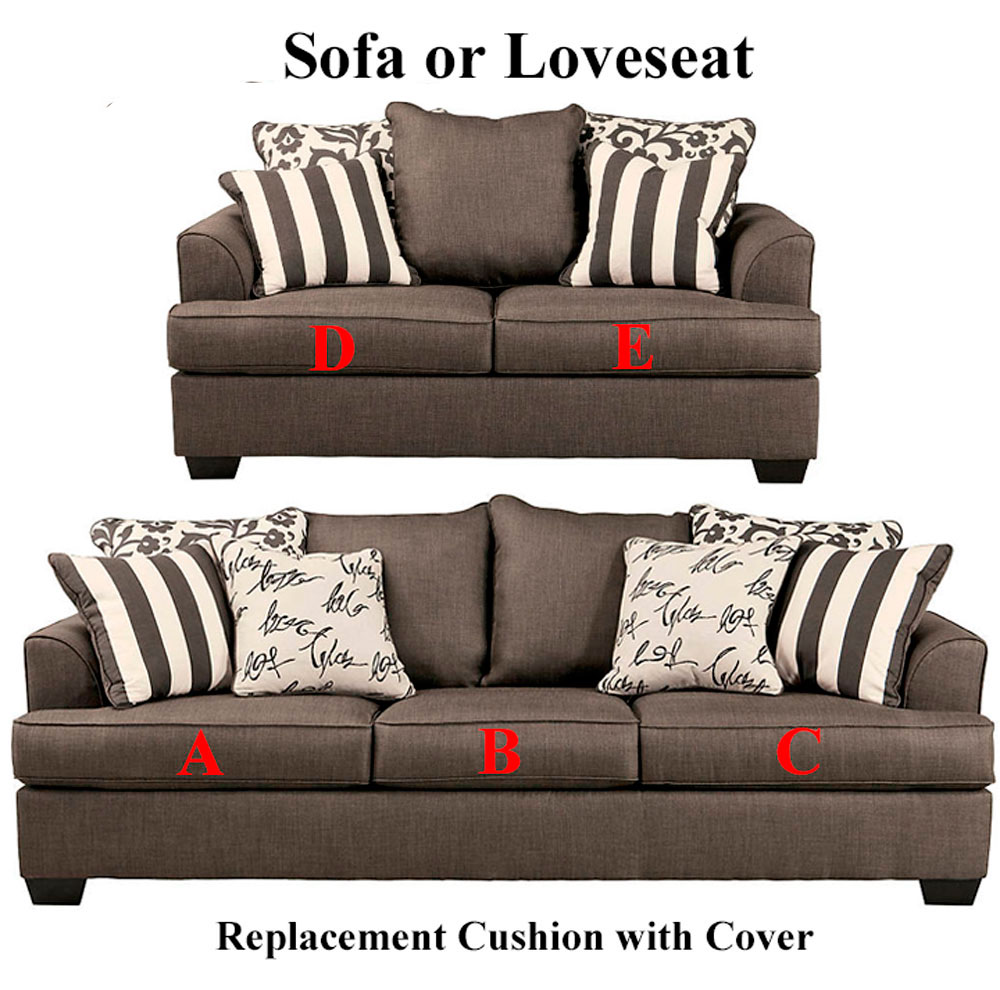 Ashley Levon Replacement Cushion Cover 7340338 Sofa Or 7340335