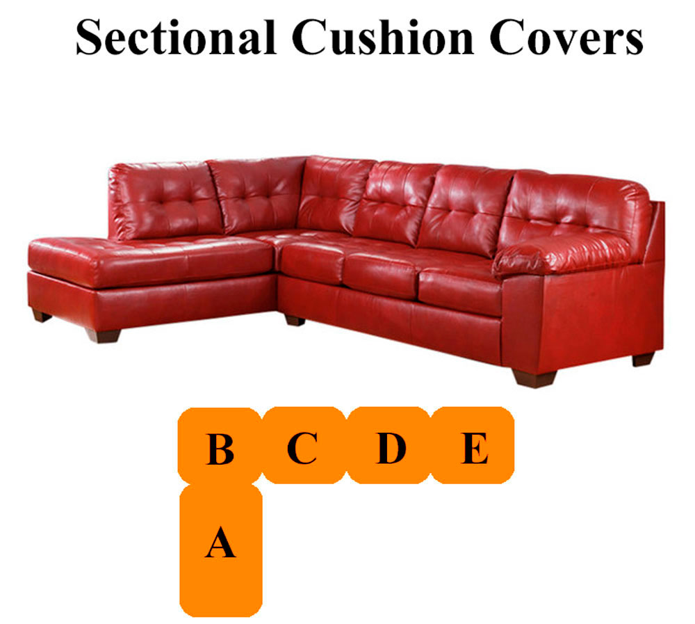 Ashley® Alliston Salsa Sectional replacement cushion and ...