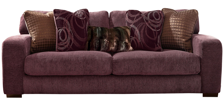 Jackson 174 Serena Plum 227603 Sofa Or 227602 Love Seat