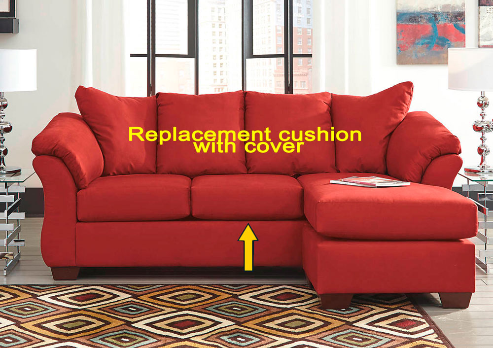 Ashley 174 Darcy Replacement Cushion And Cover 7500118 Salsa