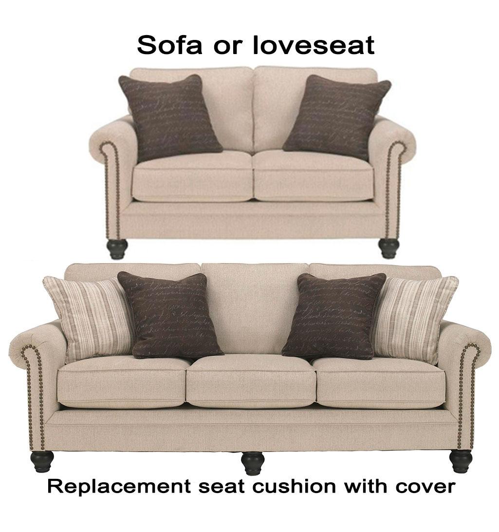 Home Replacement Cushions Sofa Ashley Milari Cushion Cover 1300038 Or 1300035 Love