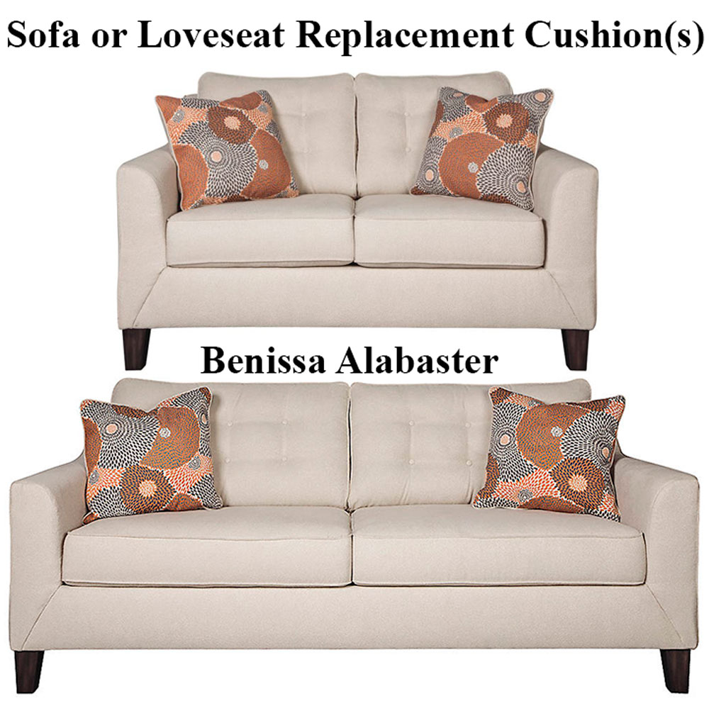 Ashley Benissa Alabaster Replacement Cushion Cover 4170238