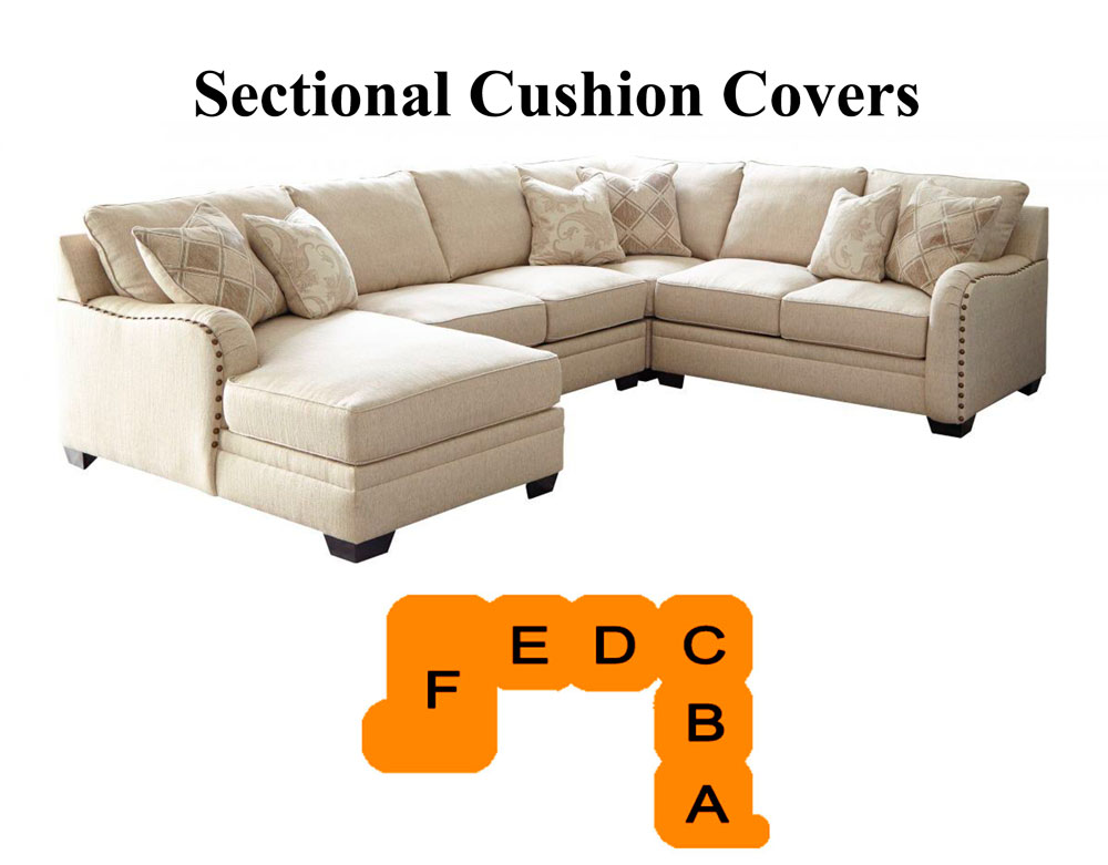 Ashley Luxora Sectional Replacement, Ashley Furniture Replacement Cushions