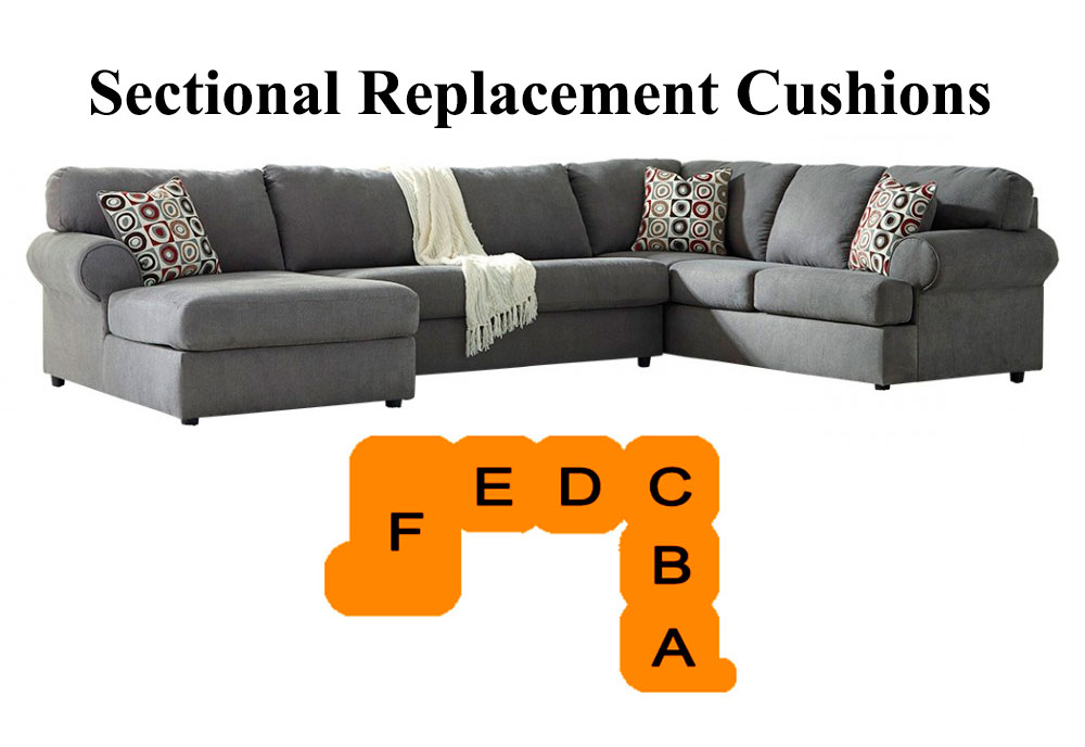 Jayleon Sectional Replacement Cushion, Ashley Furniture Replacement Cushions