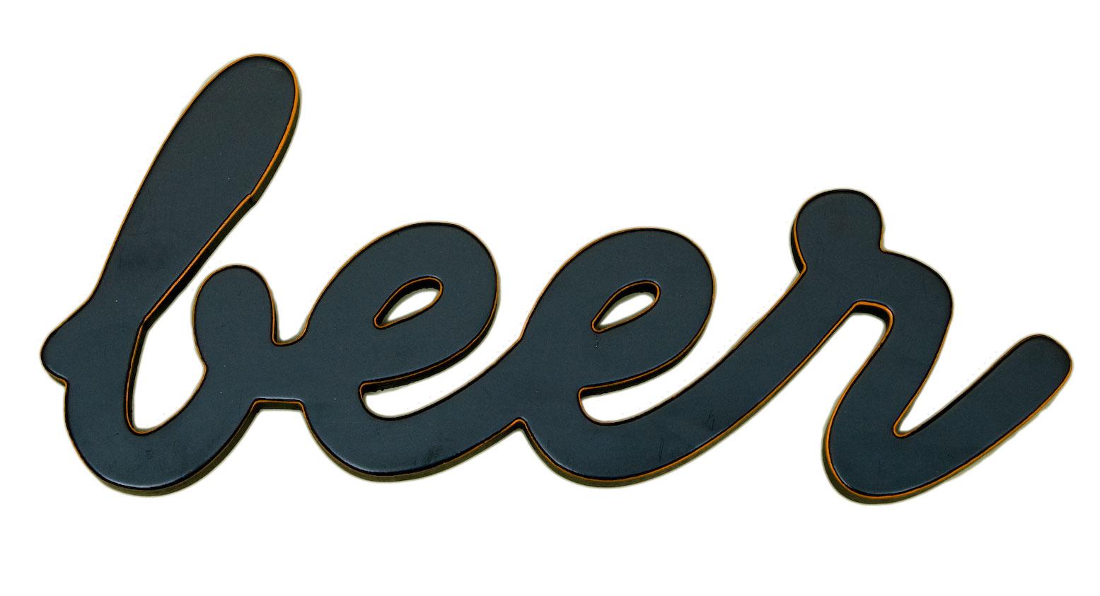 BEER Word Decor