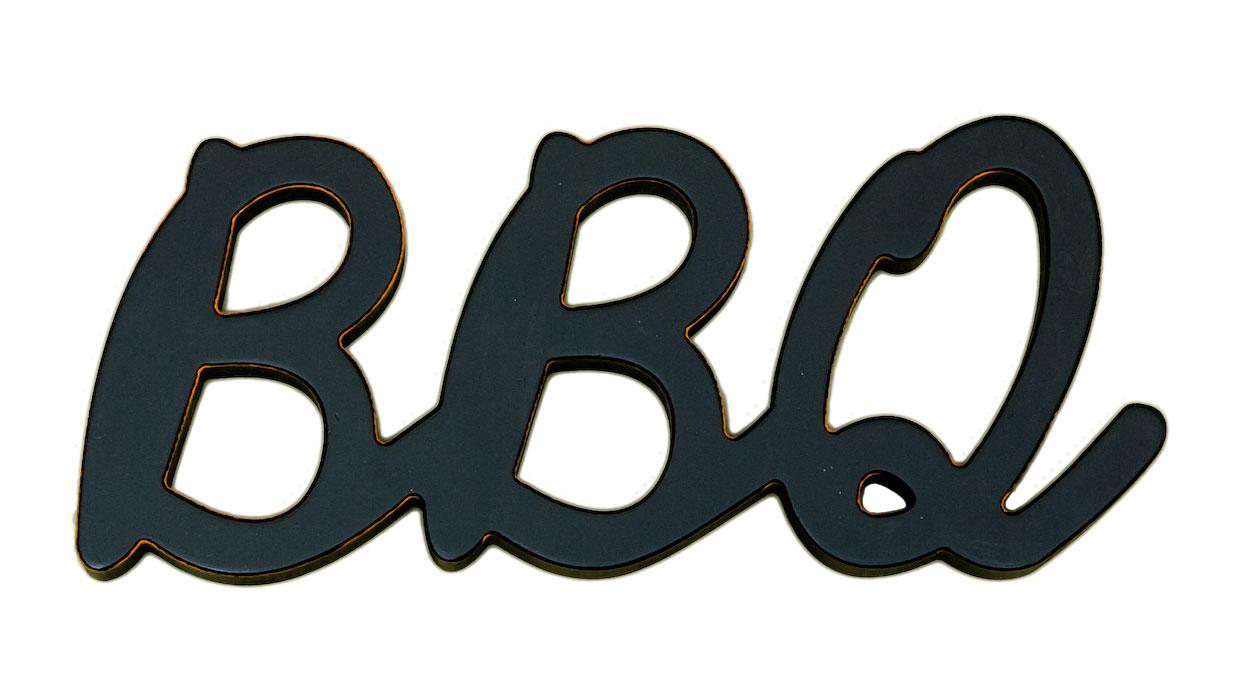 BBQ Word Decor