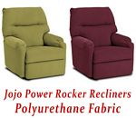 Jojo Power Rocker Recliner in Polyurethane