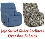 Jojo Swivel Glider Recliner